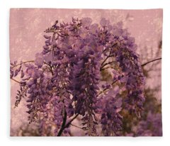 Purple Pleasures Fleece Blanket