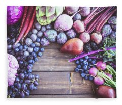 Purple Power Fleece Blanket