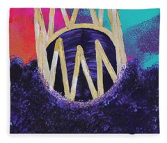 Purple Reign  Fleece Blanket