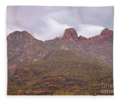 Pusch Ridge Tucson Arizona Fleece Blanket