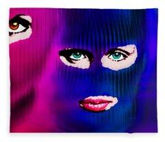 Pussy Riot Fleece Blanket