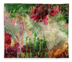 Qualia's Jungle Fleece Blanket
