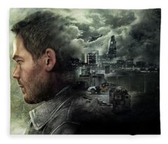 Quantum Break Fleece Blanket