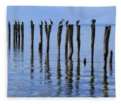 Quay Rest Fleece Blanket