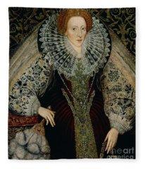 Queen Elizabeth I Fleece Blanket