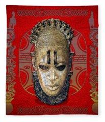 Queen Mother Idia  Fleece Blanket