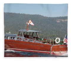 Queen Of Tahoe Fleece Blanket