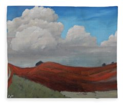 Quiet Day Fleece Blanket
