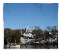 Quiet Harbor Fleece Blanket