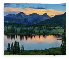 Fleece Blanket featuring the photograph Quiet In The San Juans by Rick Furmanek