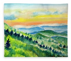 Quiet Majesty Fleece Blanket