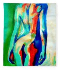 Quiet Nude Fleece Blanket