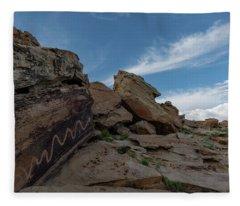 Quiet Serpent Fleece Blanket