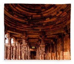 Qutub Minar Fleece Blanket