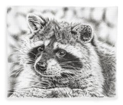 Raccoon Fleece Blanket