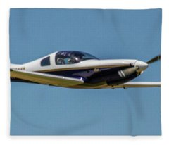Race 24 Fly By Fleece Blanket