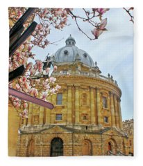 Radcliffe Camera Bodleian Library Oxford  Fleece Blanket