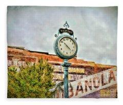Radford Virginia - Time For A Visit Fleece Blanket