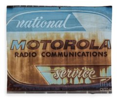 Radio Communications Fleece Blanket