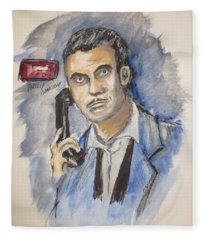 Radio's Philip Marlowe Fleece Blanket