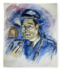 Radio's Sam Spade Fleece Blanket