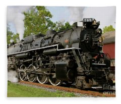 Cuyahoga Valley Express Fleece Blanket