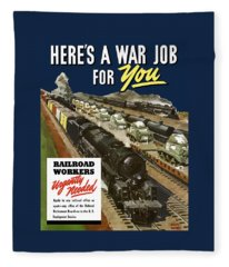 Railroad Workers Urgently Needed Fleece Blanket