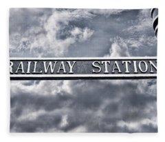 Railway Station Fleece Blanket