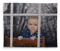 Rain Check Fleece Blanket