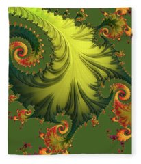 Rain Forest Fleece Blanket