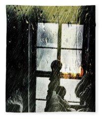 Rain In My Heart Fleece Blanket