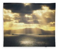 Rain Of Light Fleece Blanket