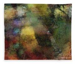 Rainbow Cutouts Fleece Blanket