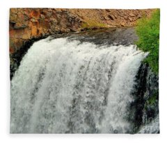 Rainbow Falls 24 Fleece Blanket