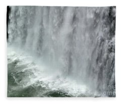 Rainbow Falls 25 Fleece Blanket