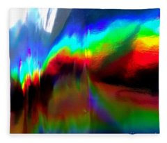 Rainbow Surprise Fleece Blanket