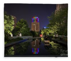 Rainbow Lights Fleece Blanket