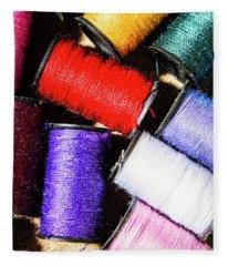 Rainbow Threads Sewing Equipment Fleece Blanket