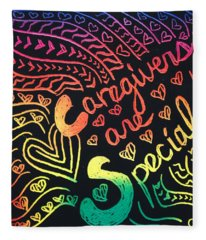 Rainbows Fleece Blanket