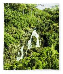 Rainforest Rapids Fleece Blanket