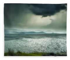 Rainy Mood Fleece Blanket