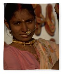 Rajasthan Fleece Blanket