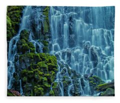 Ramona Falls  Fleece Blanket