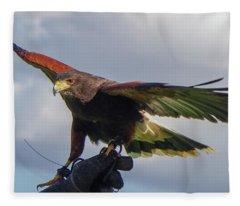 Ramona Hawk Watch 3 Fleece Blanket