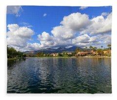 Rancho Santa Margarita Lake Fleece Blanket