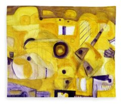 Random Landscape Fleece Blanket