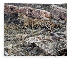 Ranthambore Apparition Fleece Blanket