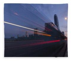 Rapid Transit Fleece Blanket