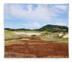 Rare Ecosystem Fleece Blanket