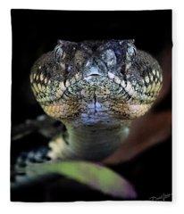 Rattler Eye To Eye Fleece Blanket